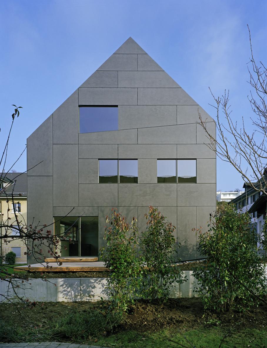 gallery of duplex house in k snacht rossetti wyss architekten 4. Black Bedroom Furniture Sets. Home Design Ideas