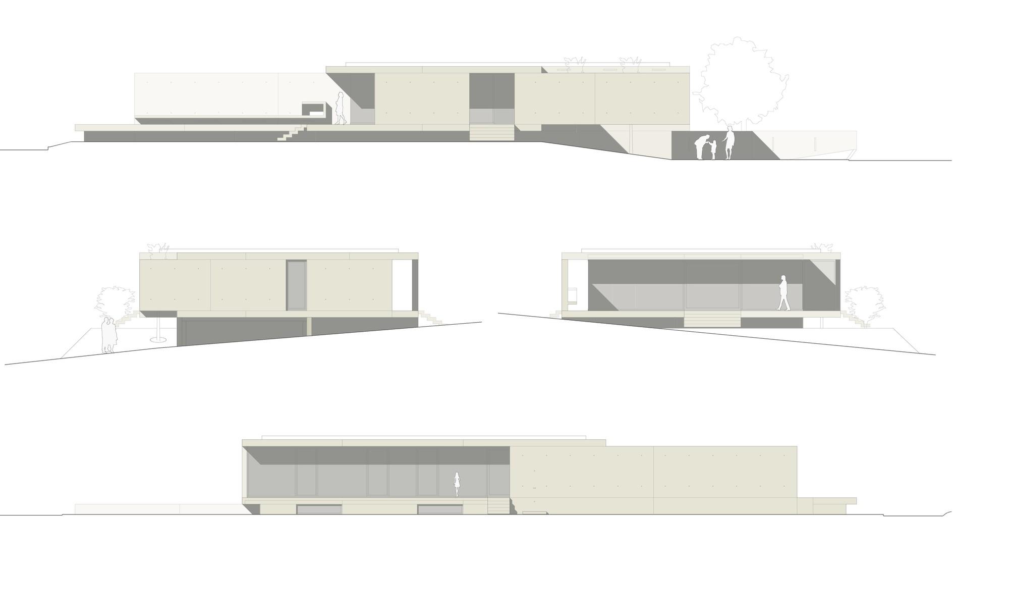 gallery of house at zimmerberg bottom rossetti wyss architekten 20. Black Bedroom Furniture Sets. Home Design Ideas