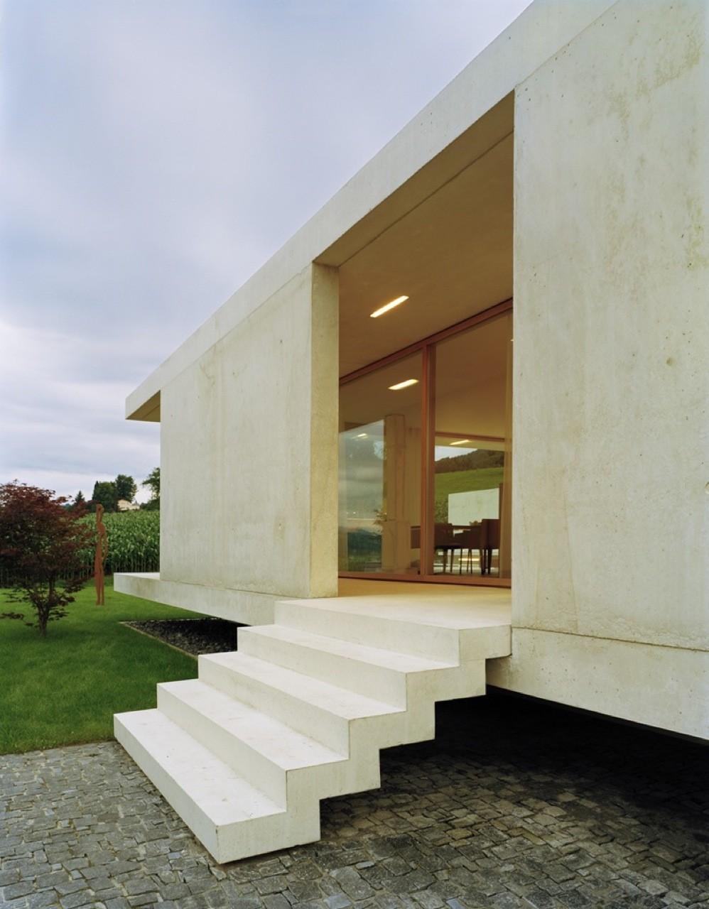gallery of house at zimmerberg bottom rossetti wyss architekten 3. Black Bedroom Furniture Sets. Home Design Ideas