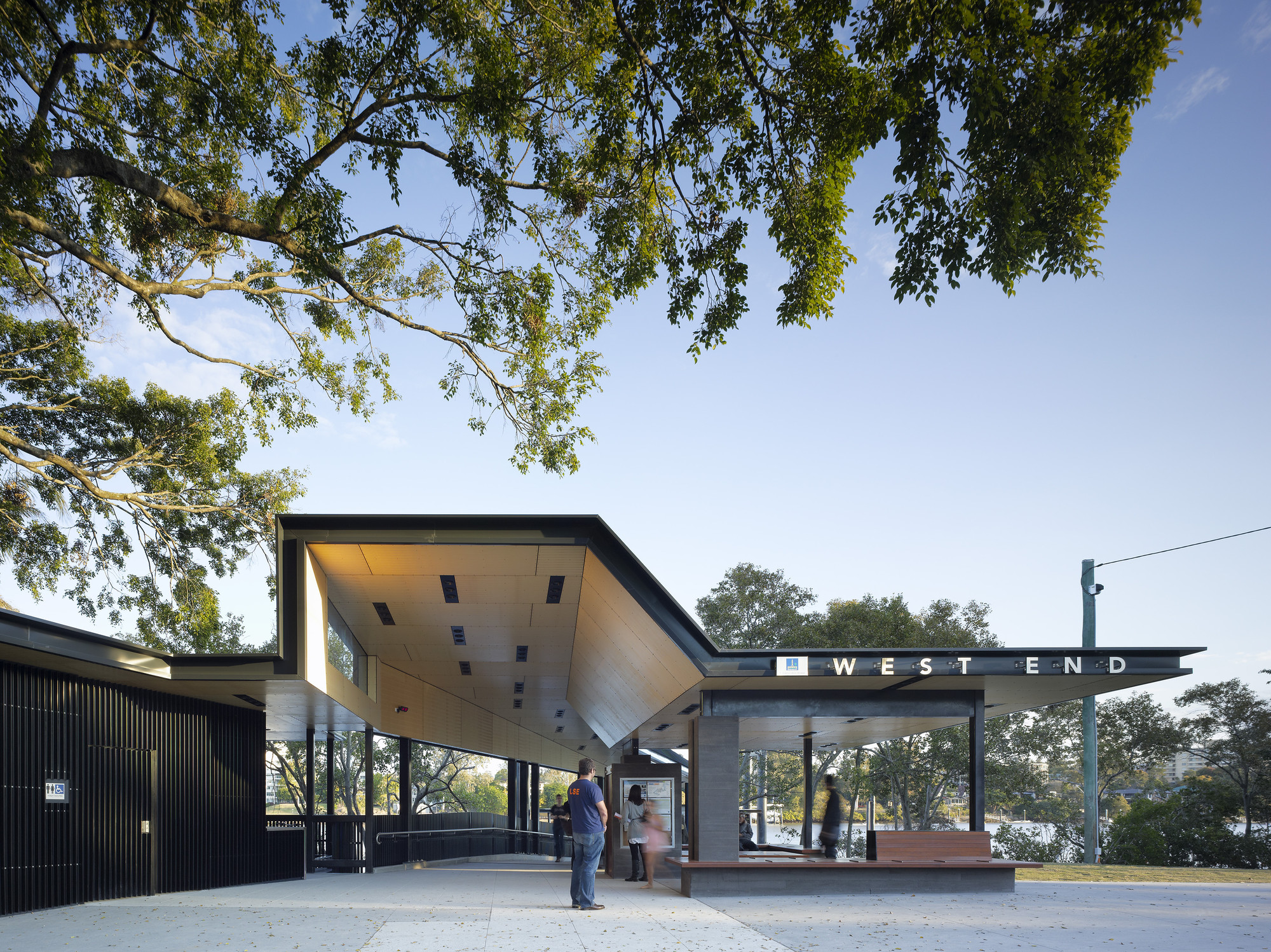 West End Ferry Terminal / Cox Rayner Architects, © Christopher Frederick Jones