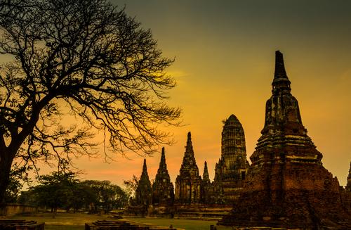 Temple wat Chaiwatthanaram of Ayuthaya Province Thailand. Image © SasinT via shutterstock.com