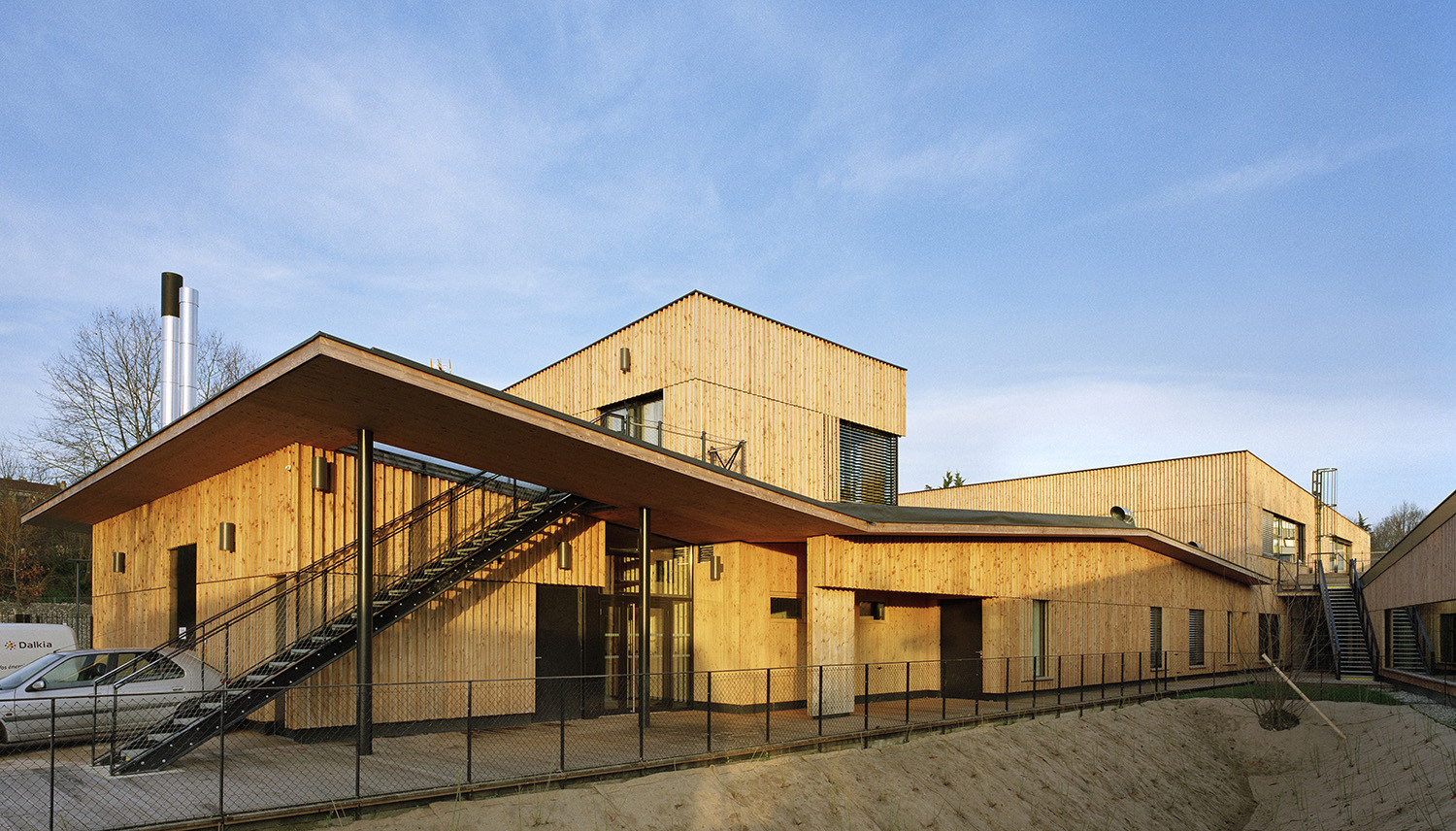 Gallery of school complex in rillieux la pape for La architecte