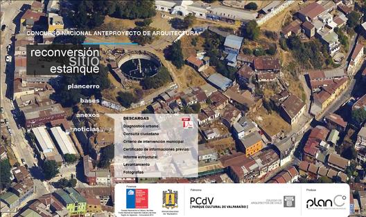 Concurso Nacional de Anteproyectos: Reconversión Sitio Estanque