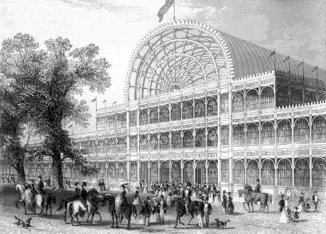 AD Classics: The Crystal Palace / Joseph Paxton, The Crystal Palace, 1851. © wikiarquitectura.com