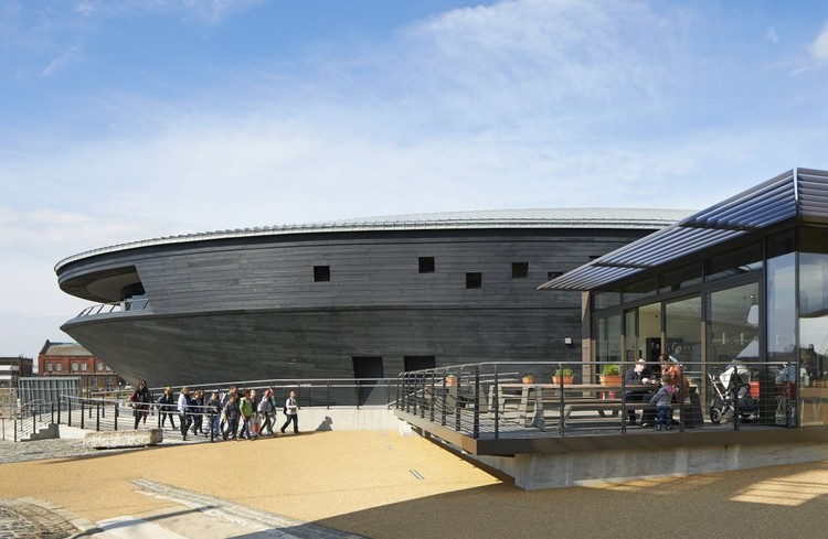 Mary Rose Museum / Wilkinson Eyre Architects / © Hufton+Crow
