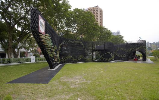 Archifest Zero Waste Pavilion / WOW Architects / © Aaron Pocock
