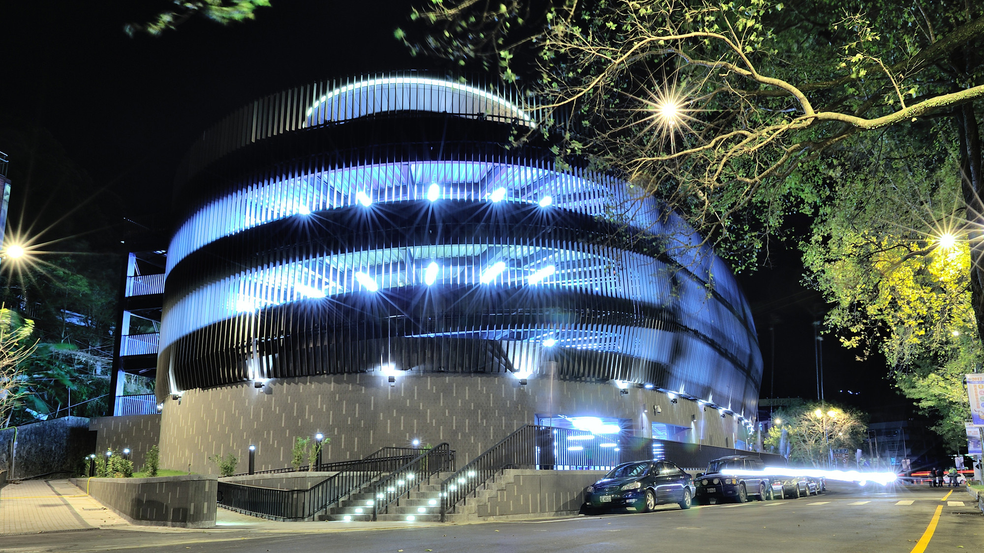 Wulai Parking Structure / QLAB / Courtesy of QLAB