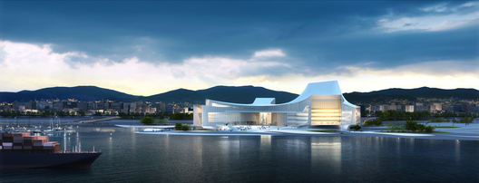 Busan Opera House Second Prize Winning Proposal / designcamp moonpark dmp / Courtesy of designcamp moonpark dmp