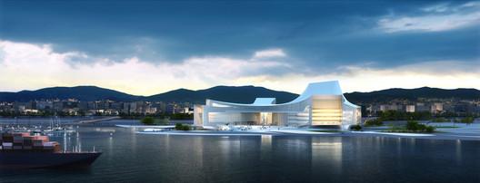 Busan Opera House Second Prize Winning Proposal / designcamp moonpark dmp / Courtesy of designcamp moonpark dmp