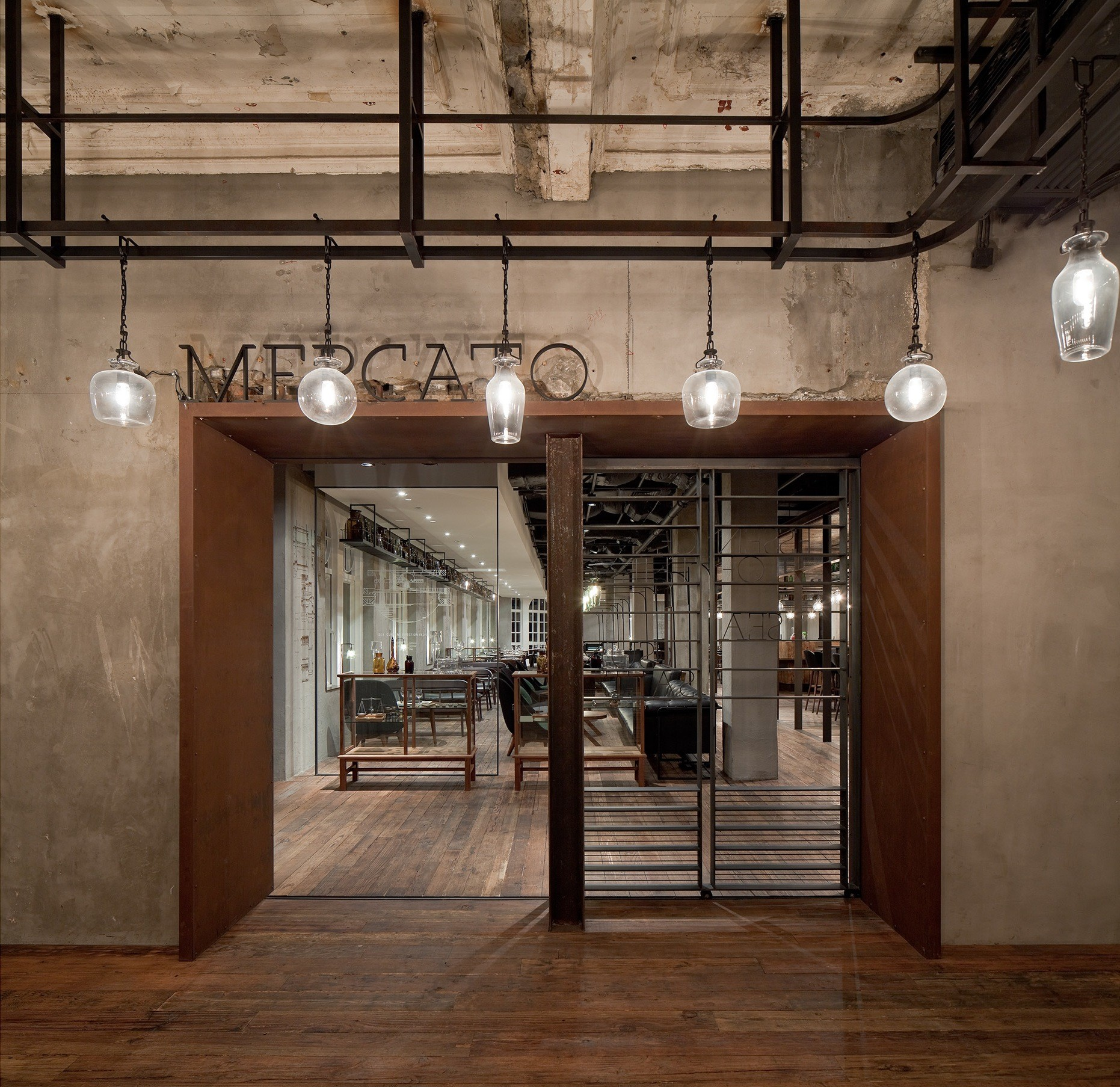 Gallery of mercato neri hu design and research office 5 for Office design research