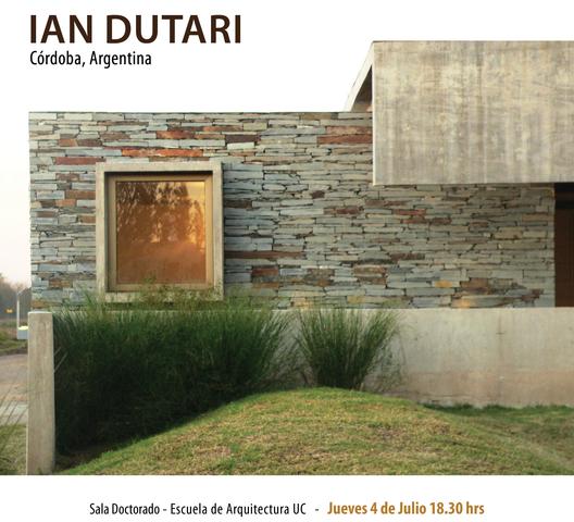 Conferencia de Ian Dutari en Lo Contador