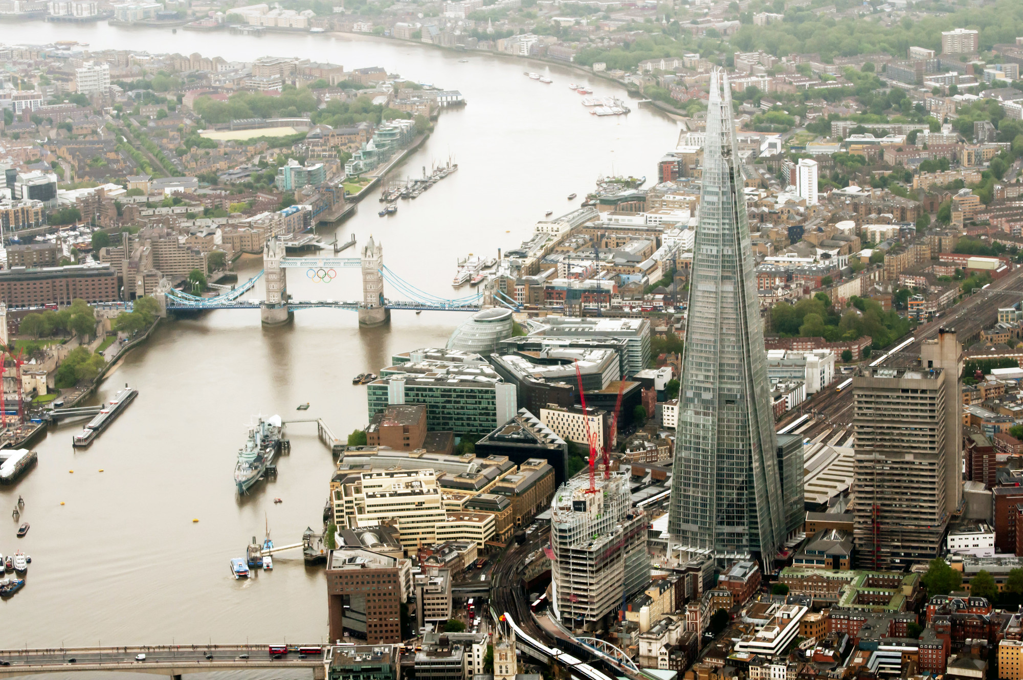 CTBUH Names Best Tall Buildings for 2013 , Winner: The Shard; London, UK / Renzo Piano © Sellar Property Group