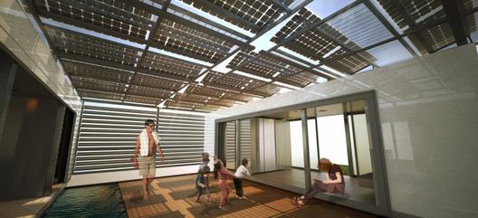 Solar Decathlon 2013: Micro-Casa se expande de forma inteligente para ampliar su espacio interior, © SCI-Arc/Caltech
