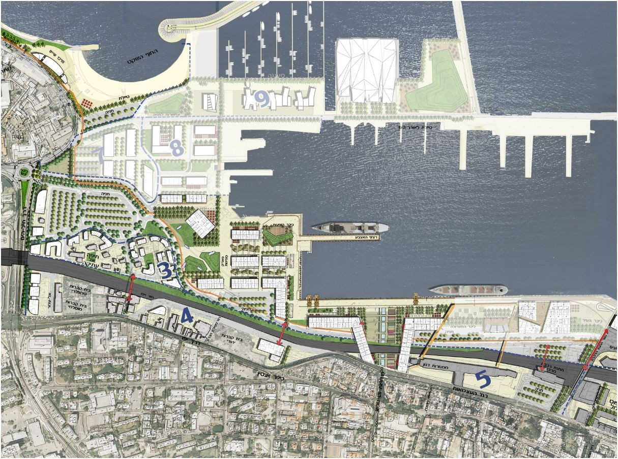 Excellent Gallery Of New Haifa Waterfront Plan Amir Mannami Shinar Largest Home Design Picture Inspirations Pitcheantrous