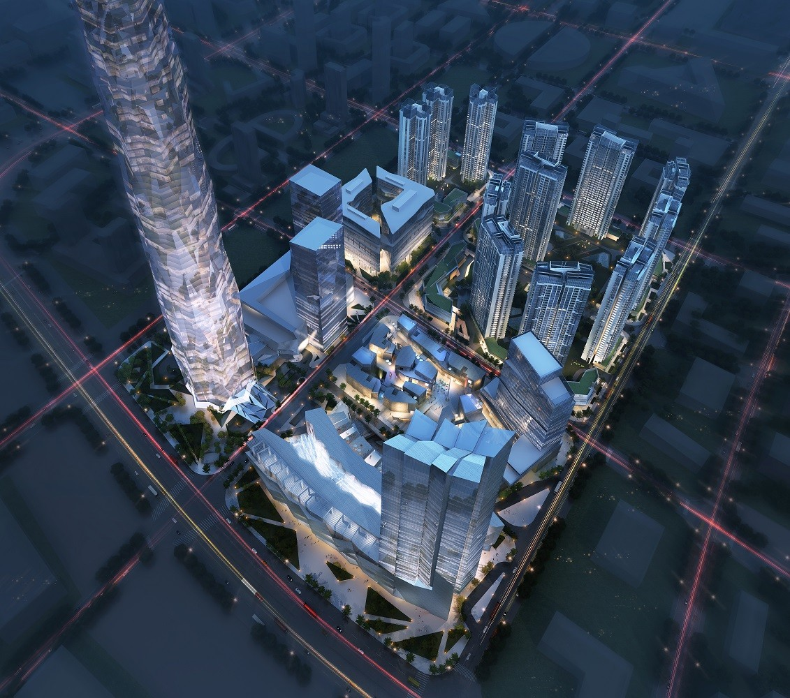 Greenland Group Chengdu East Village CBED Plots Proposal / Aedas, Courtesy of Aedas