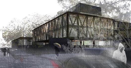Primer Lugar  Concurso Edificio Docente y de Investigación Escuela de Arquitectura UC, Courtesy of Gonzalo Claro + Equipo
