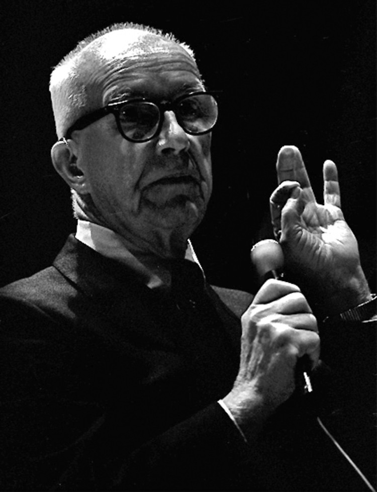 Spotlight: Buckminster Fuller, photo by Dan Lindsay via Wikimedia commons