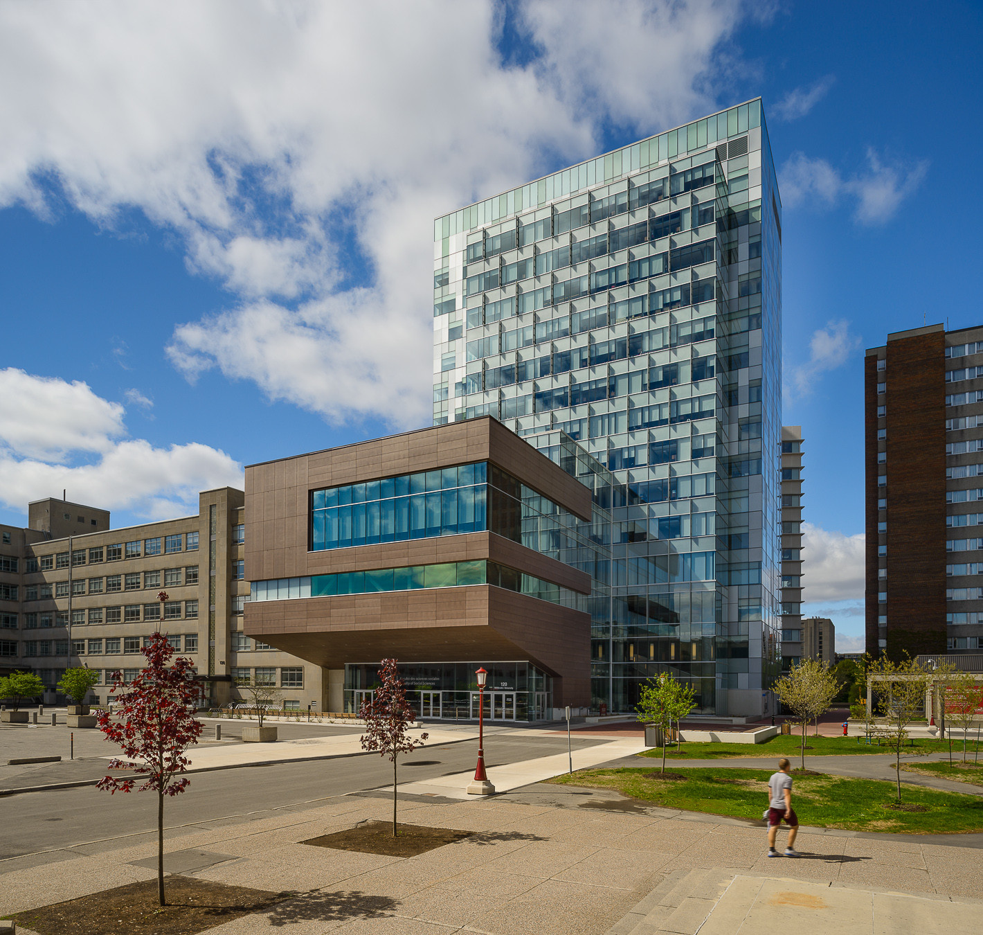 University of Ottawa / KWC Architects + Diamond Schmitt Architects, Courtesy of Diamond Schmitt Architects