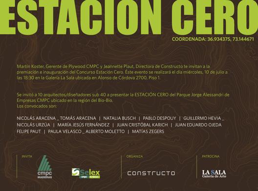 Premiación e Inauguración del Concurso Estación Cero