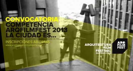 ¡Últimas semanas para enviar tus filmes a la competencia de Arqfilmfest!