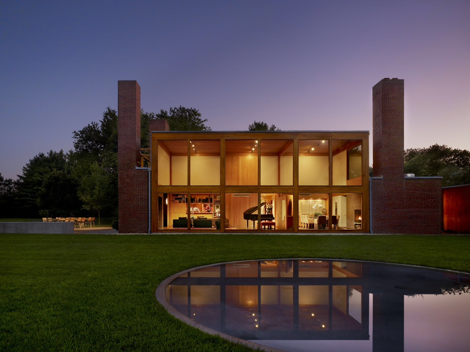 Interior of Louis Kahn's 1971 Korman House to be Redesigned