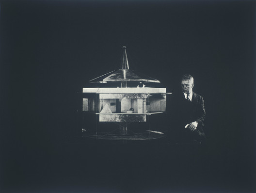 Buckminster Fuller and Chuck Byrne, 4D House, United States Patent Office no. 1,793, from the portfolio Inventions: Twelve Around One, 1981; screen print on Lenox paper; 30 in. x 40 in. (76.2 cm x 101.6 cm); Collection SFMOMA, gift of Chuck and Elizabeth Byrne. Image © The Estate of R. Buckminster Fuller, All Rights reserved. Published by Carl Solway Gallery, Cincinnati.