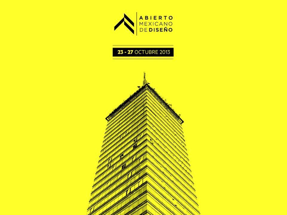 Abierto Mexicano de Diseño en octubre 2013, Courtesy of AMD