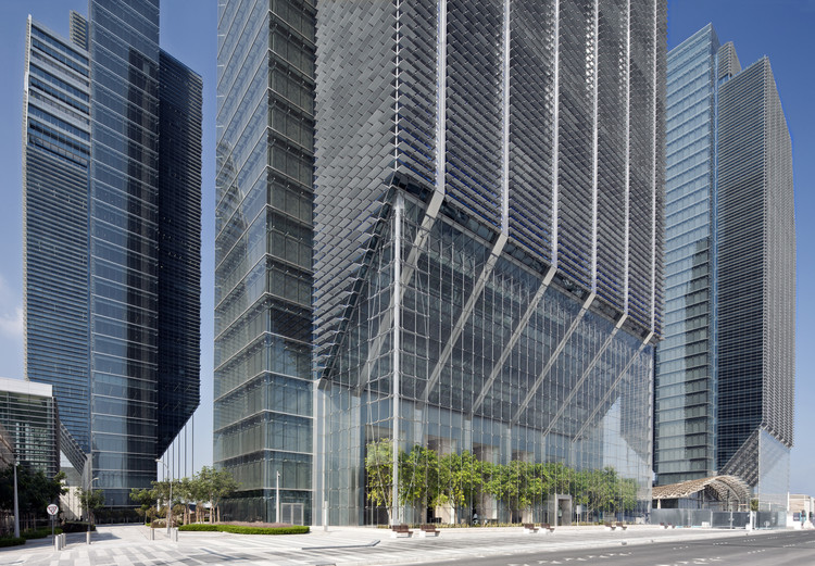 Sowwah Square / Goettsch Partners, © Lester Ali