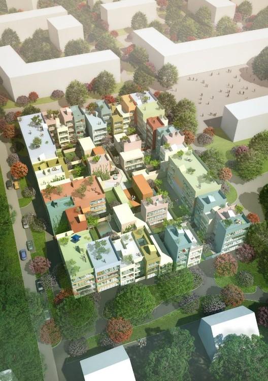 Urban Hybrid Housing Winning Proposal / MVRDV, © MVRDV