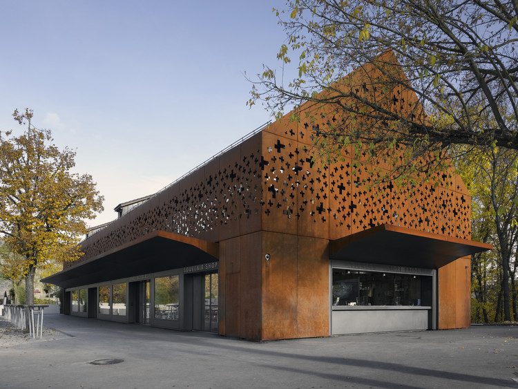 Rhine Falls Visitor Center / Leuppi & Schafroth Architekten, © Roger Frei