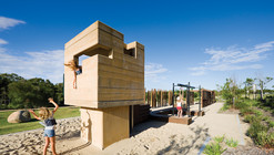 Elysium Playground / Cox Rayner Architects