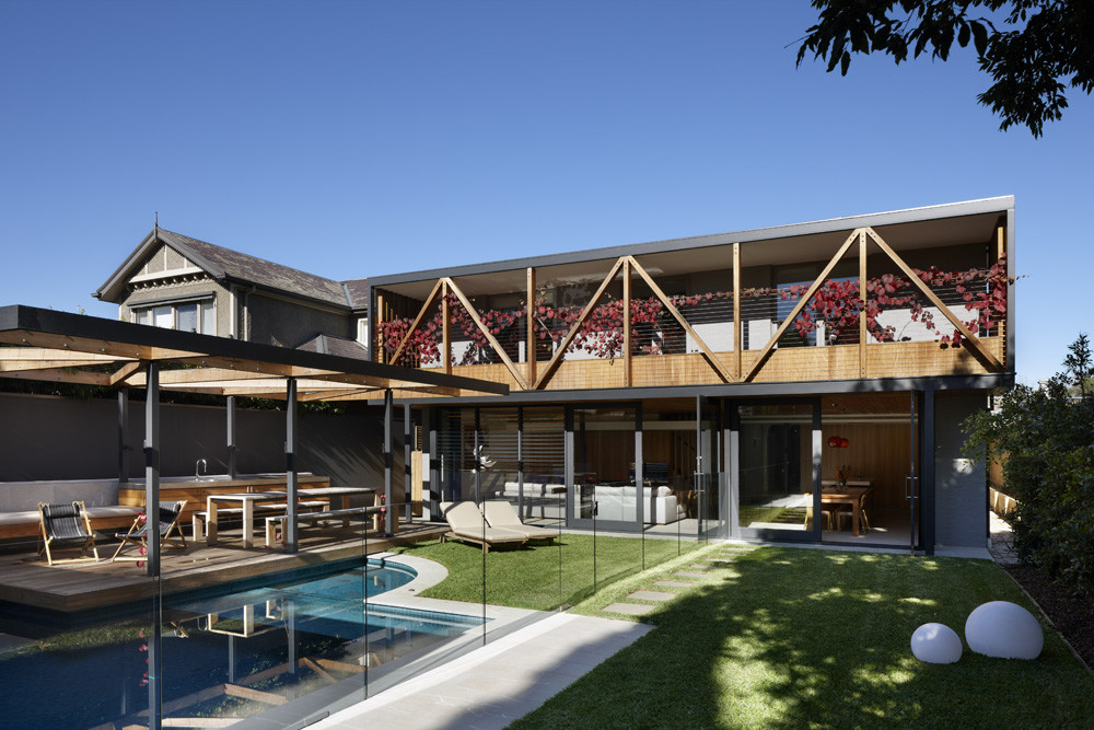Hawthorn House / AM Architecture, © Dianna Snape