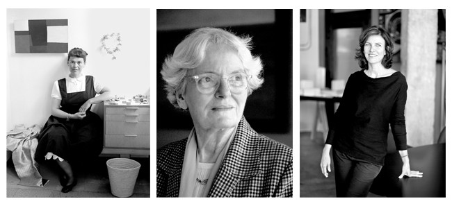Necessary Hauntings: Why Architecture Must Listen to its Forgotten Women, From left: Ray Eames; Denise Scott Brown; Jeanne Gang Time & Life Pictures/Getty Images; Courtesy Sally Ryan Photography; Courtesy Frank Hanswijk