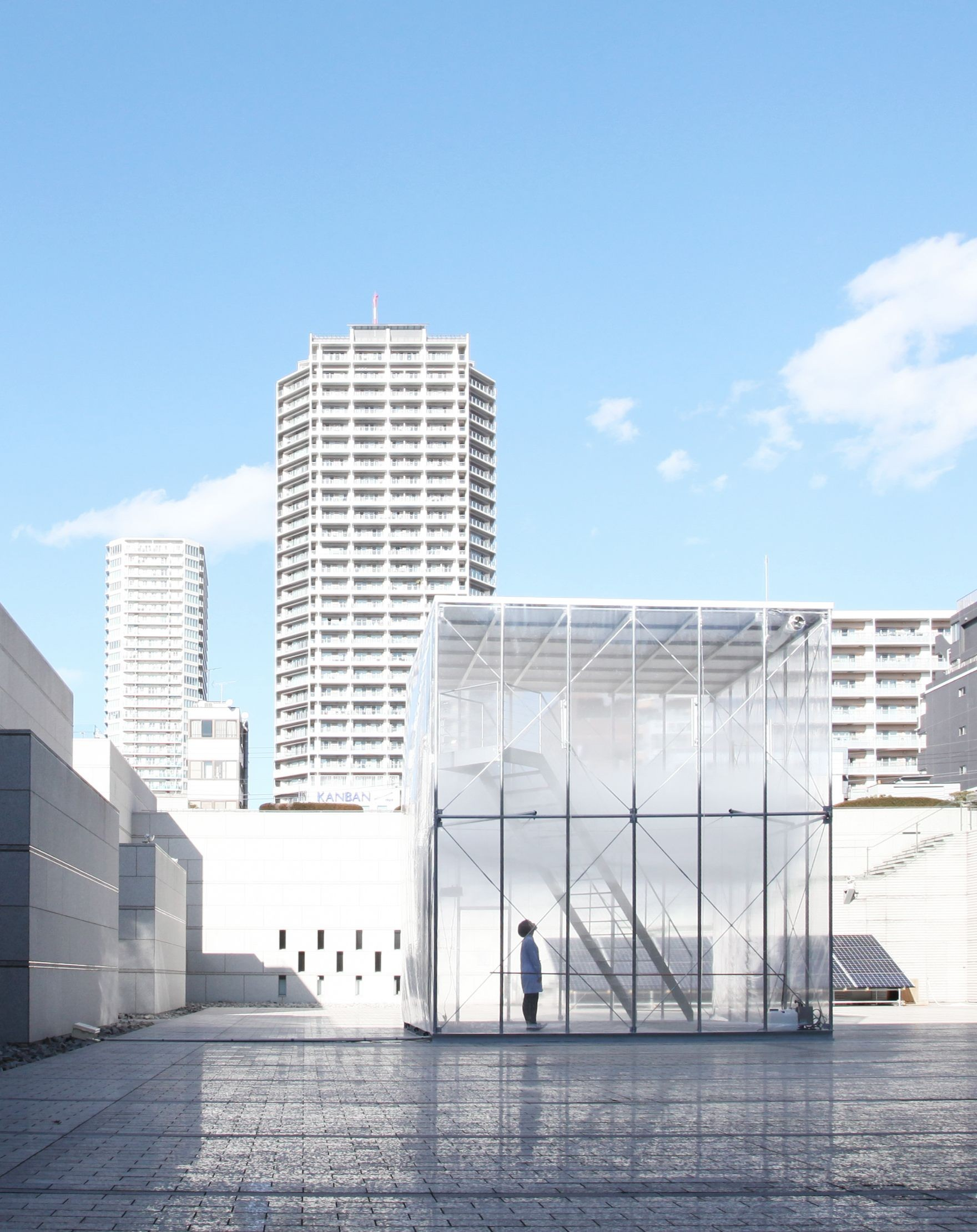 Gallery Of Cloudscapes At Mot Tetsuo Kondo Architects