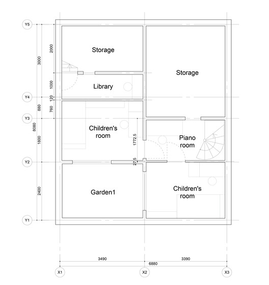 Basament Floor Plan