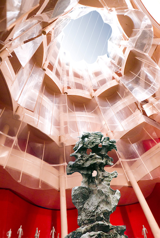 The Great Hall; Courtesy of Gehry Partners