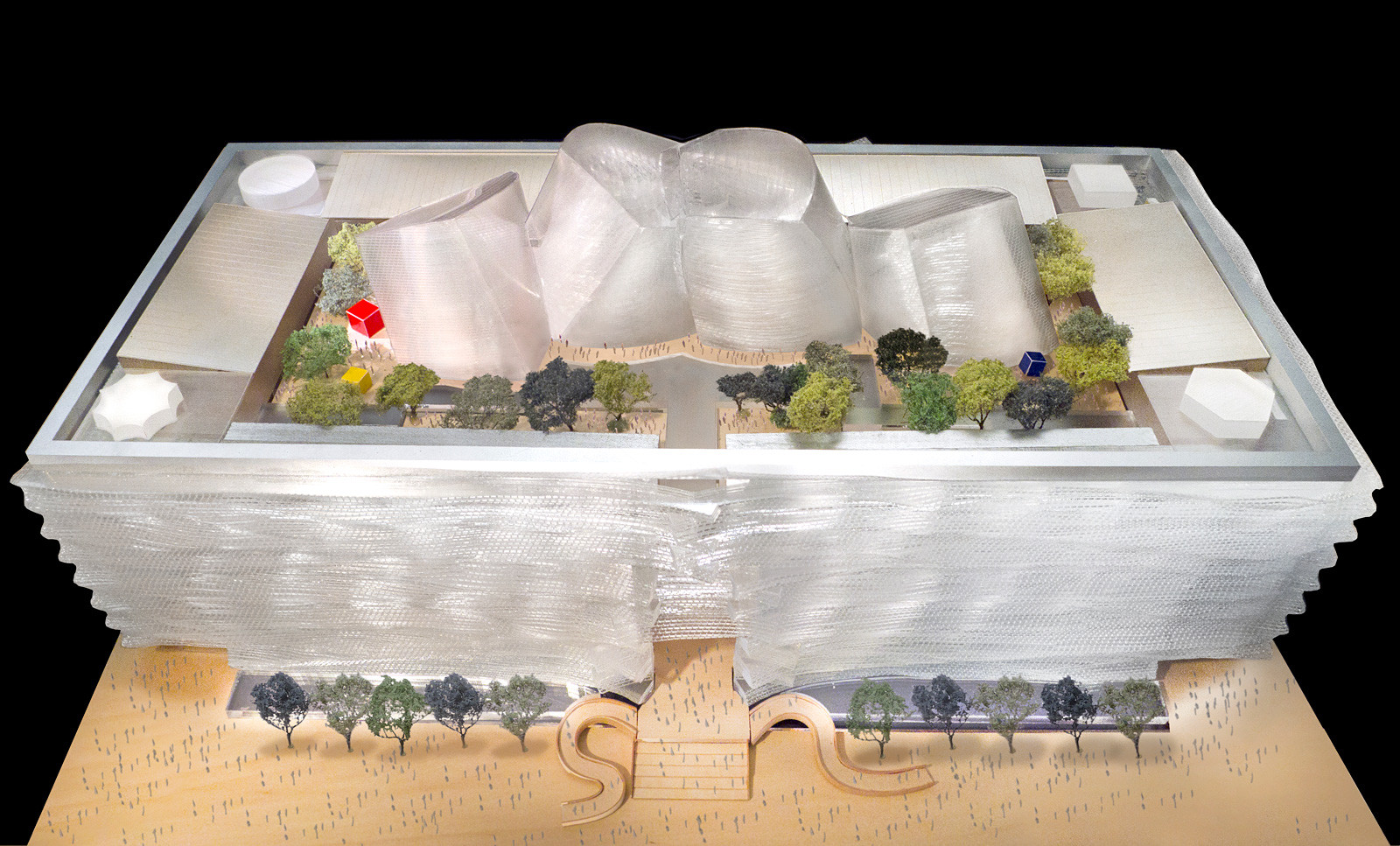 Roof Garden; Courtesy of Gehry Partners