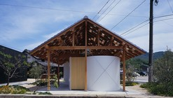 Hut with the Arc Wall / Tato Architects