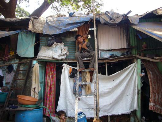 Dharavi Slum, Mumbai, India; © Gynna Millan; Courtesy of Flickr User Development Planning Unit University College London