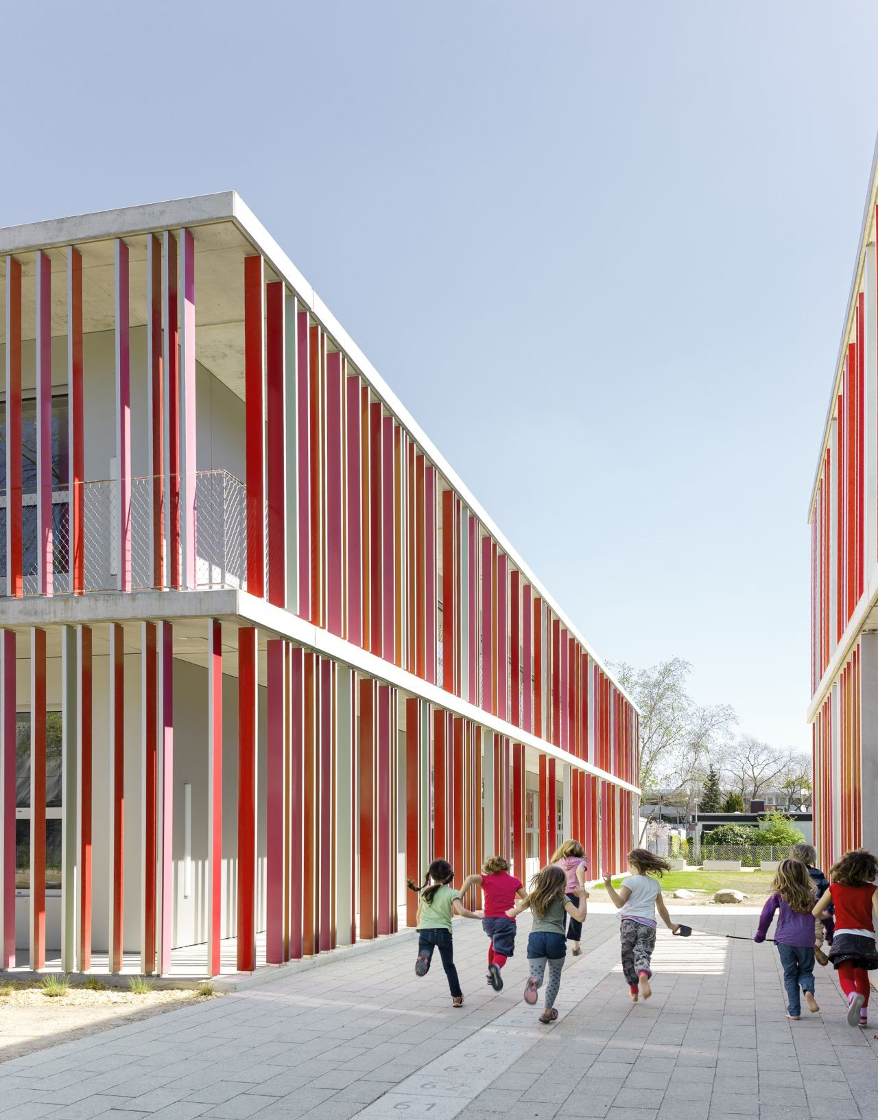 Primary School In Karlsruhe Wulf Architekten Archdaily