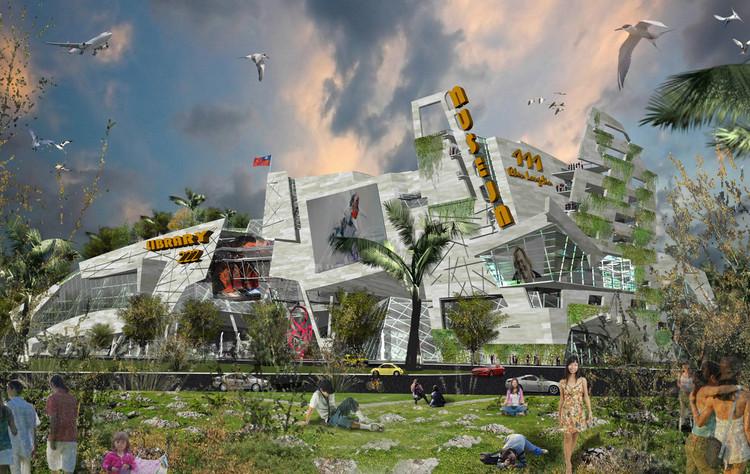 Propuesta Centro Cultural en Taichung / d INKOFF, © Cortesía de d INKOFF