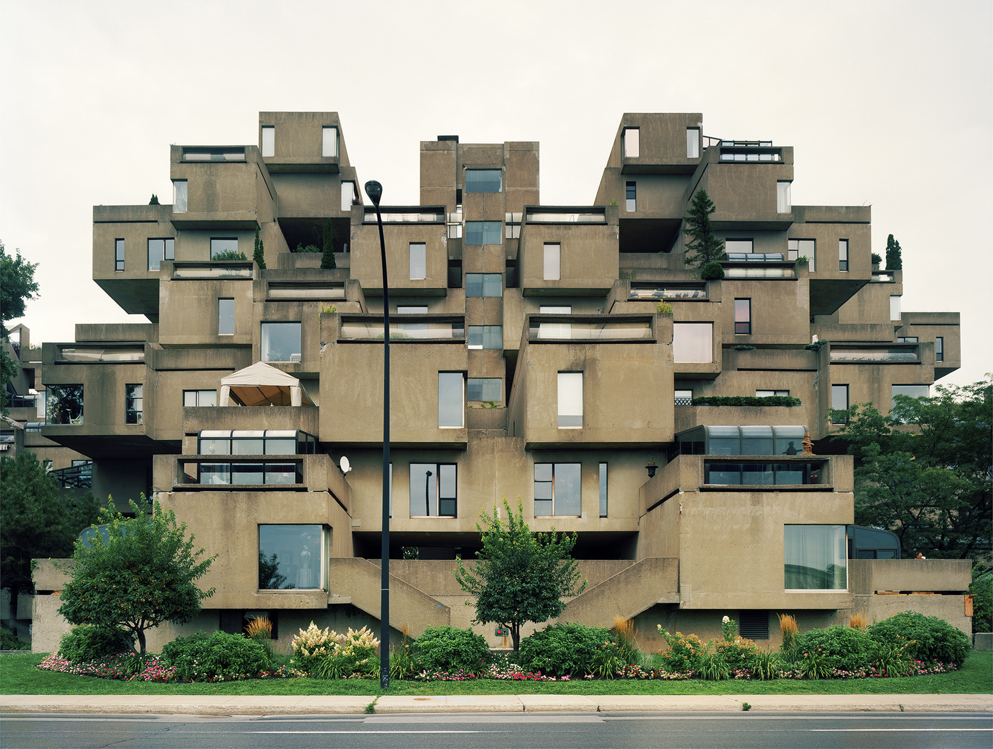 Gallery of ad classics habitat 67 safdie architects 4 for Habitat 67 architecture