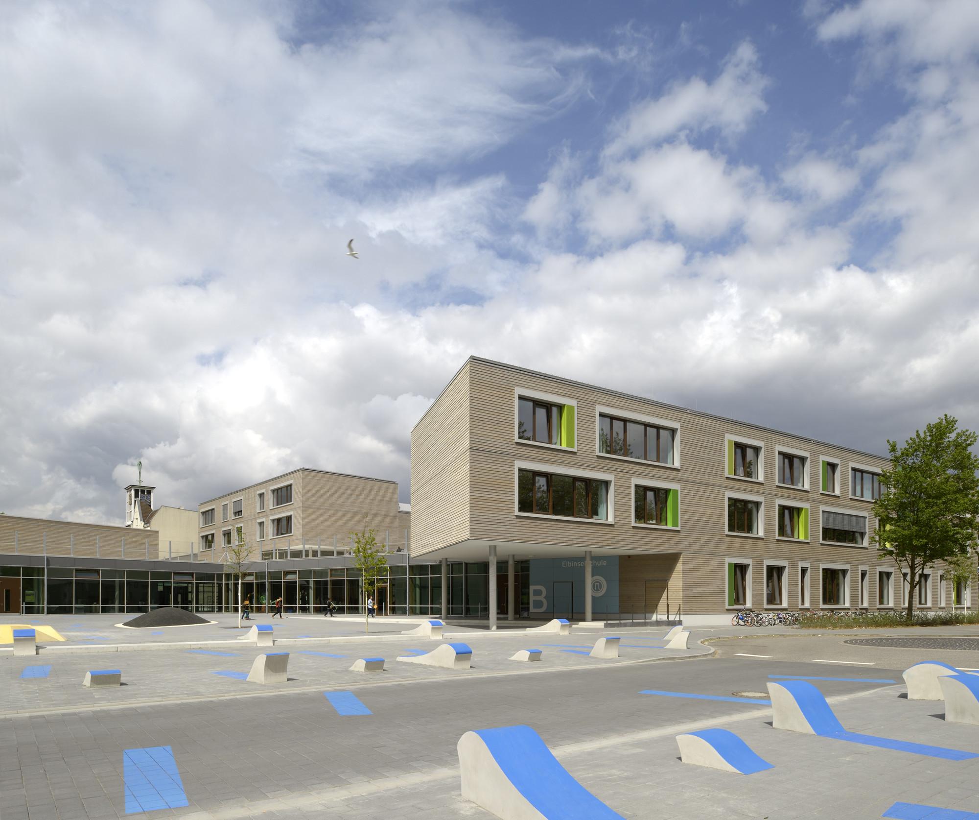 Bildungszentrum Tor zur Welt / Bof Architekten, © Hagen Stier