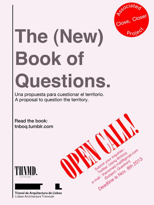 """""""El (Nuevo) Libro de las Preguntas"""": ¿Qué preguntarías tú acerca del territorio, la ciudad y la arquitectura?"""
