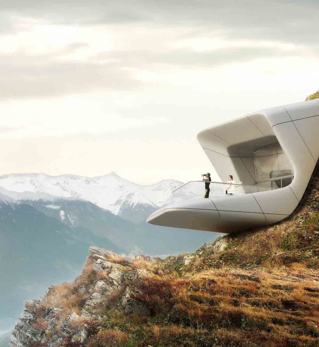 Messner Mountain Museum at Plan de Corones Proposal / Zaha Hadid Architects, Courtesy of Zaha Hadid Architects