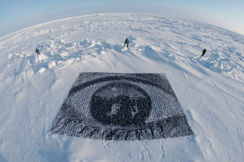 "Inside Out Project"" en el Polo Norte"