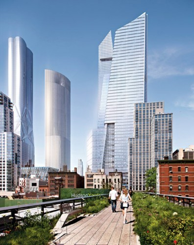 Hudson Yards; Photo: Rendering by Visualhouse