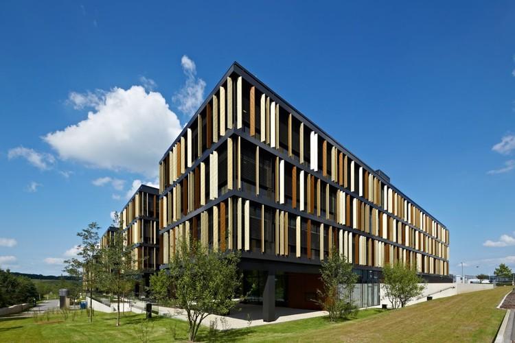 Lalux Assurances Headquarters / Jim Clemes Atelier d´Architecture et de Design, © Robert Sprang