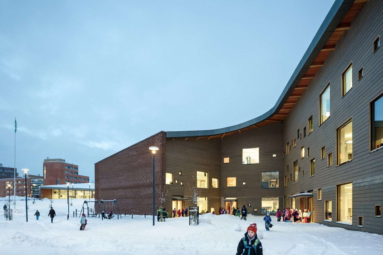 Saunalahti School / VERSTAS Architects, © Tuomas Uusheimo