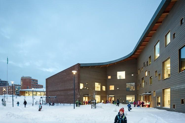 Escuela Saunalahti / VERSTAS Architects, © Tuomas Uusheimo